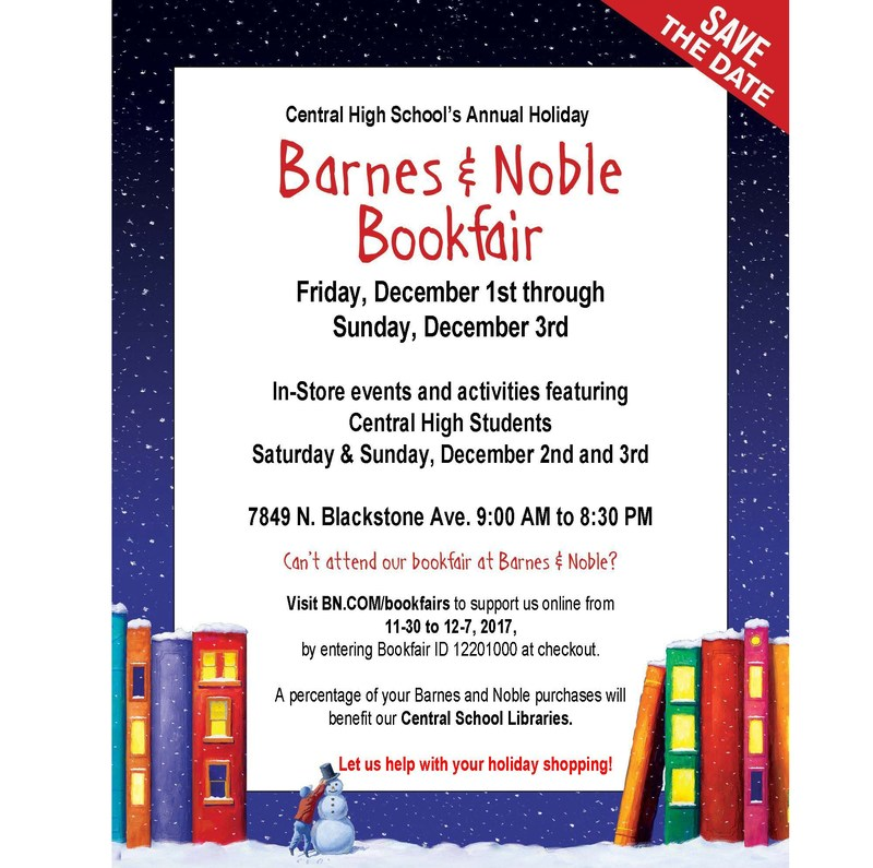 Holiday Book Fair Flier