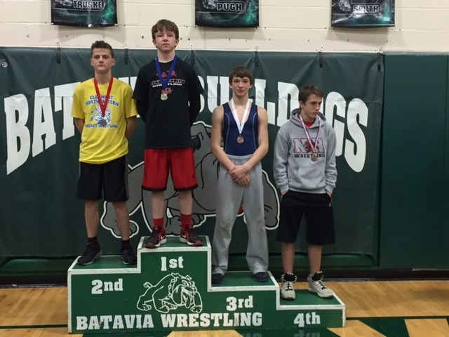 Thomas Hill SBAAC Wrestling 1st place
