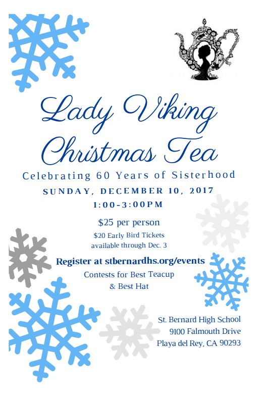 Lady Viking Christmas Tea Featured Photo