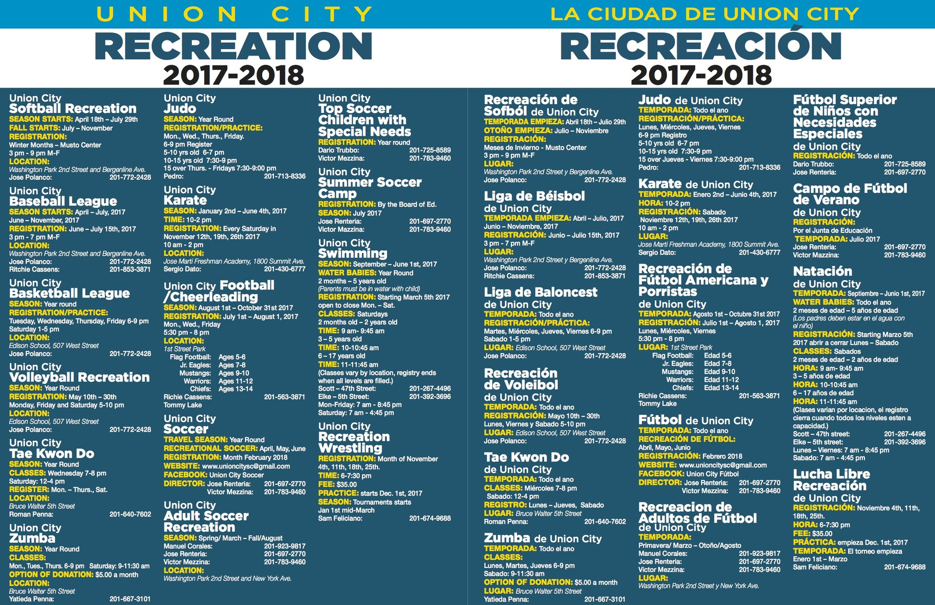 UC Recreation 2017-2018 page2