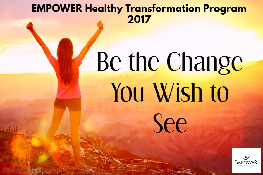 Be your own change!
