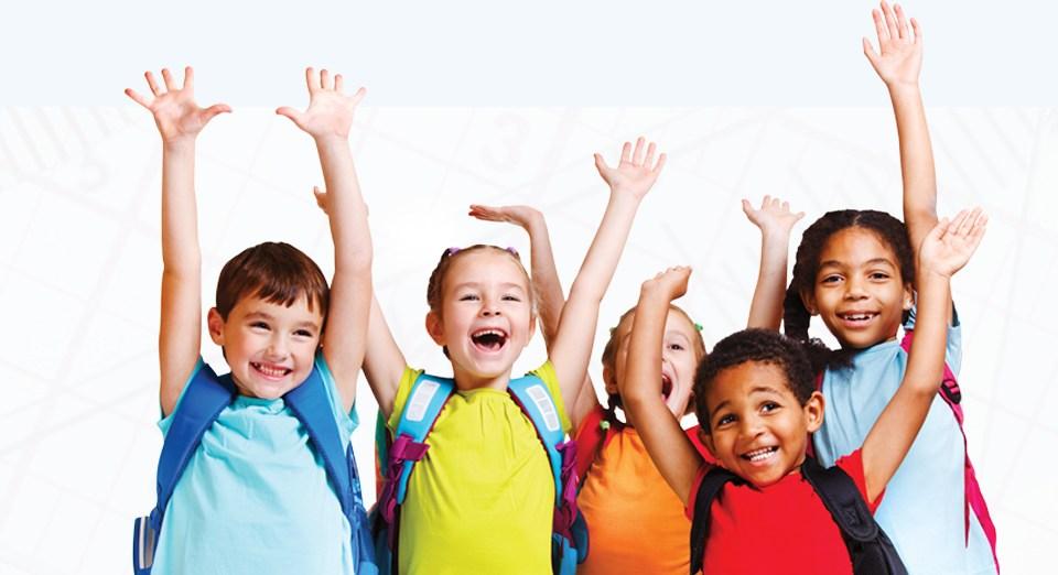 Kids Hands Up
