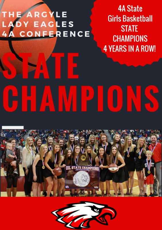 AHS LADY EAGLES ARE CONFERENCE 4A STATE CHAMPIONS Thumbnail Image