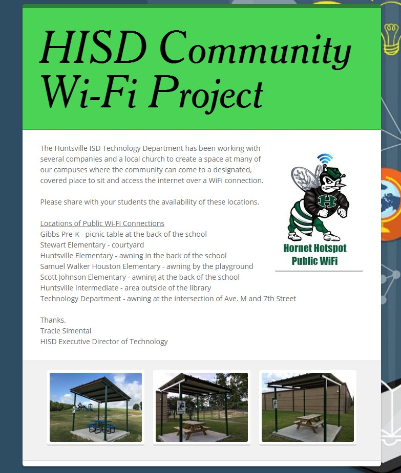 Community WiFi Project Information