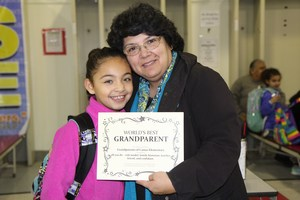 Attendees at the Camas Grandparent's Day