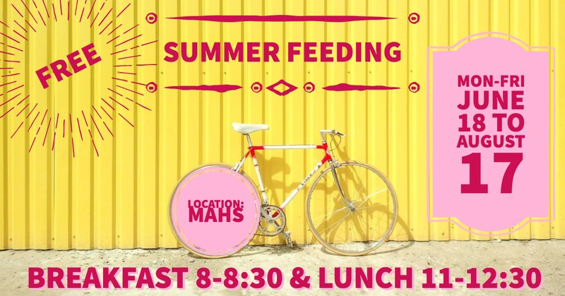 summer feeding at mount airy high school