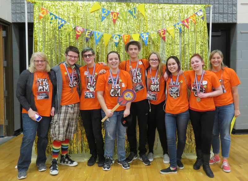 One of the TK High School Odyssey of the Mind teams will advance to the world finals.