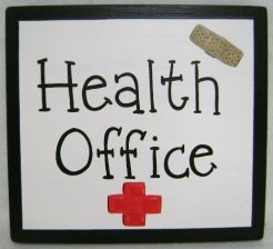Health Office Sign