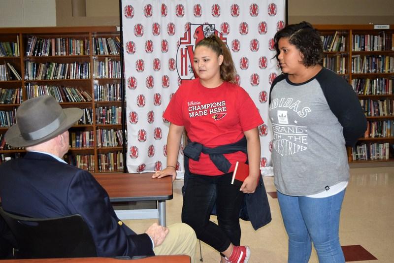 Whittier High Alumnus Inspires Students Featured Photo