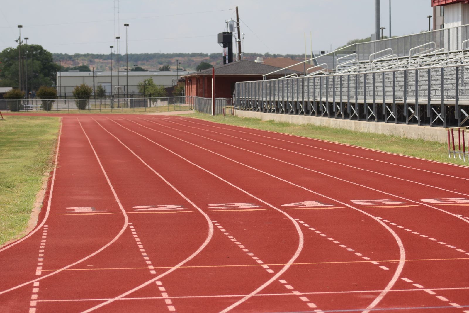 Lanes at MWHS Track