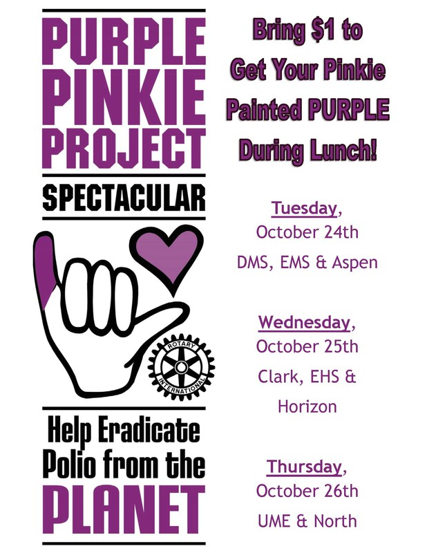 Uinta County School District supporting cure for Polio Thumbnail Image