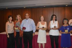 25 year Honorees - Ceida Fern_ndez_ Sheila Conley_ Bill Collazo_ Iris Christian_ Minerva Ramos and Mercedes Nakachi.JPG