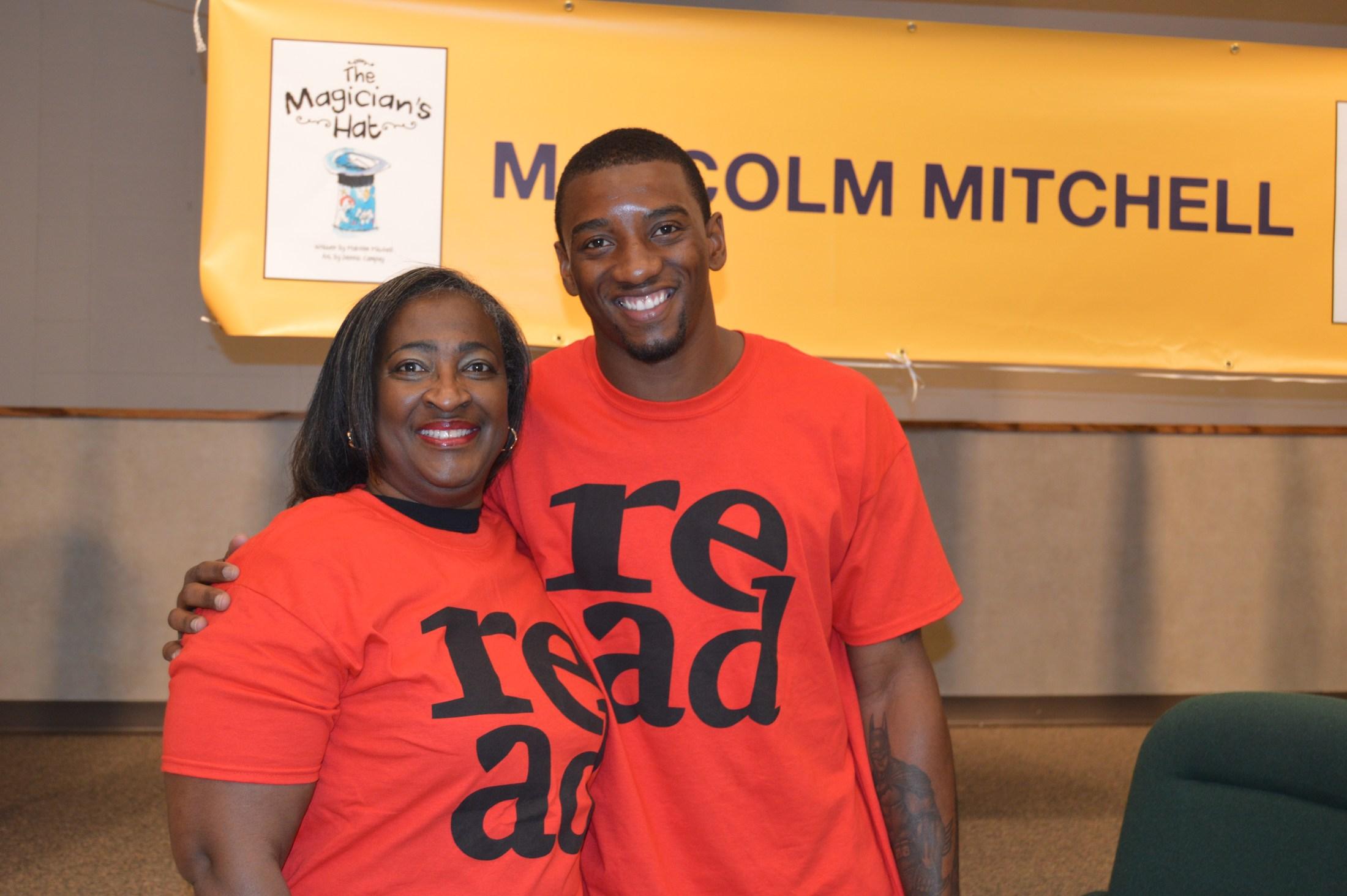 Mrs. Sermons & Malcolm Mitchell