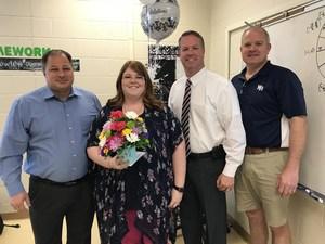 Teacher of the Year Courtney Howlett