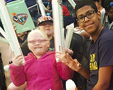 Camp Wanaqua at NY Liberty Basketball Game