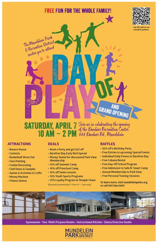 Day of Play at Dunbar Recreation Center Featured Photo