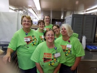NCHS Cafeteria Staff