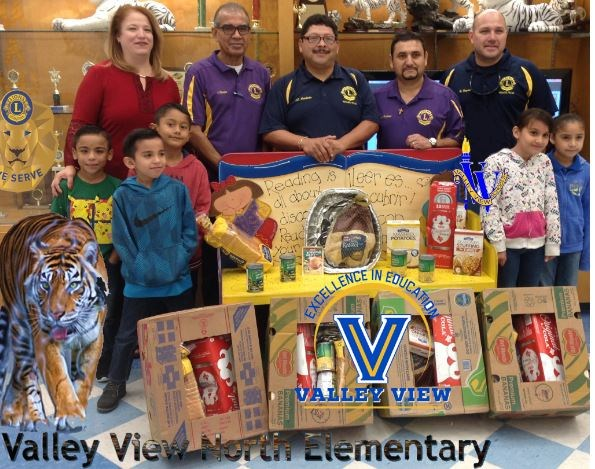 Lions Club of Hidalgo Shared the Blessings with our school! Thumbnail Image