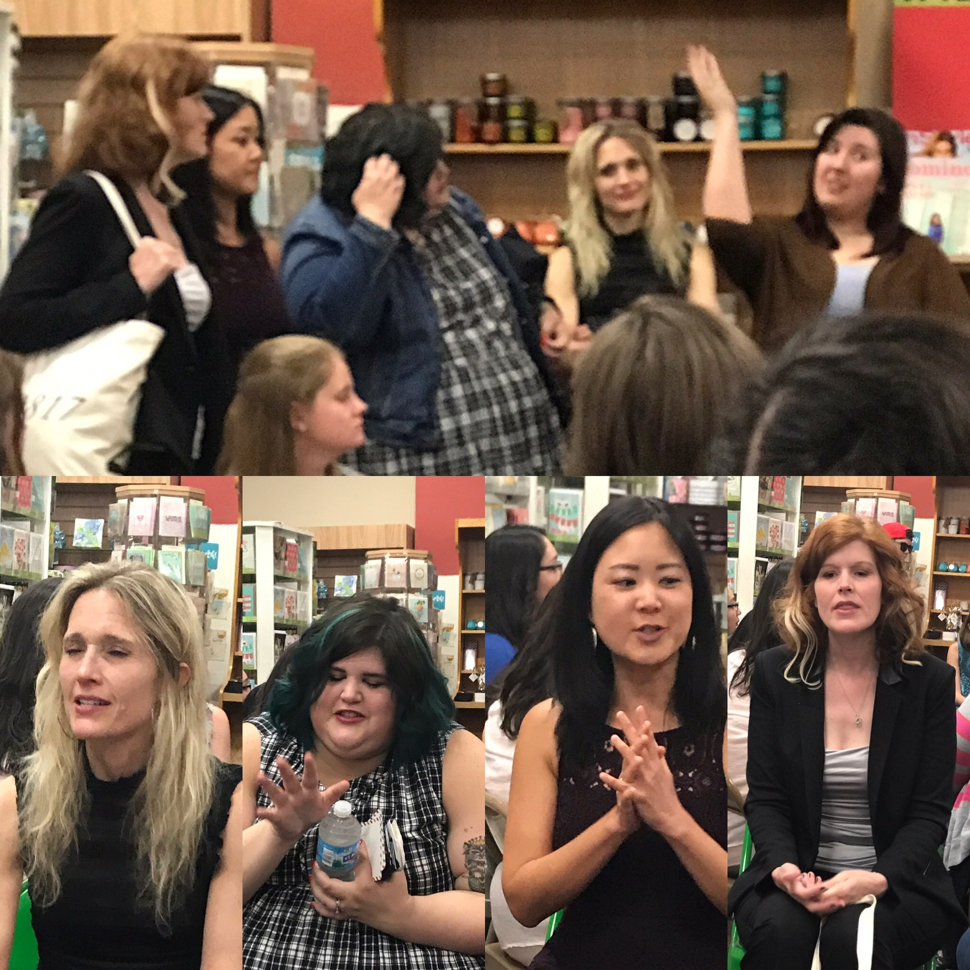 Chicago author visit with Joelle Charbonneau and others