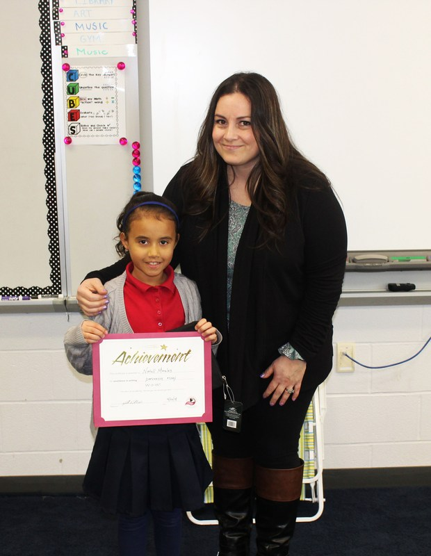 Writer of the Week! (4/20) - This week's WoW winner is Natali Morales, 3rd grader from Chestnut Elementary School! Thumbnail Image