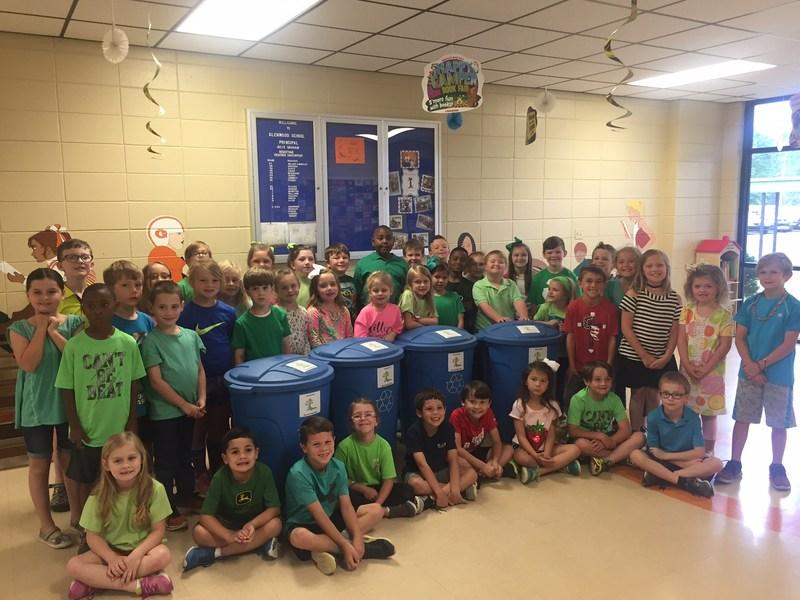 1st Grade Students Celebrate