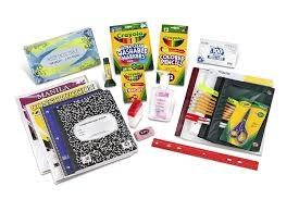 Pre-Packaged School Supplies! Thumbnail Image