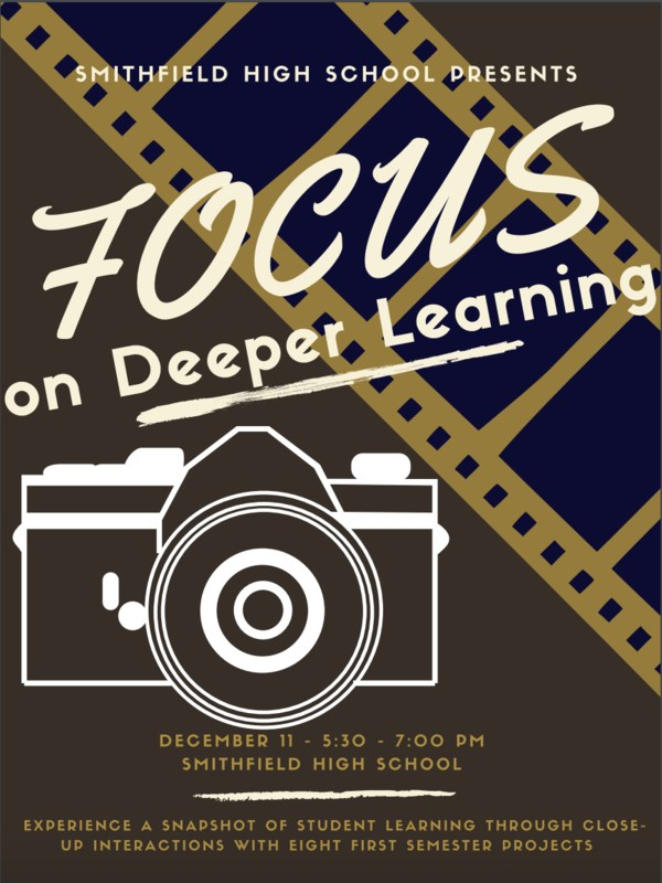 SHS Fall Expo Focus on Deeper Learning Flyer  December 11th 5:30 to 7:00