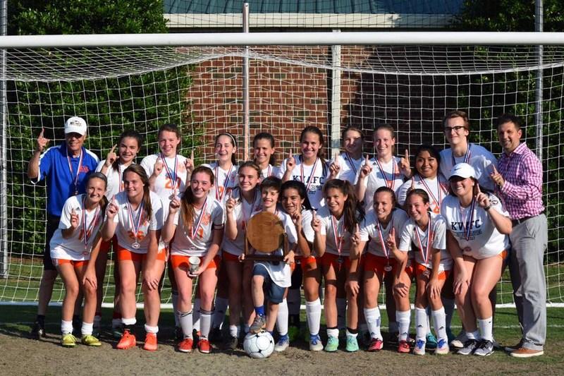 Congratulations KVA Girls' Soccer Team!!!  2017 NCISSA Division 1-A State Champions Thumbnail Image