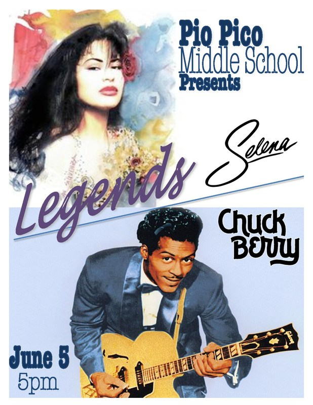 LEGENDS : A Modern Band Concert Showcasing the Music of Chuck Berry and Selena Quintanilla Thumbnail Image
