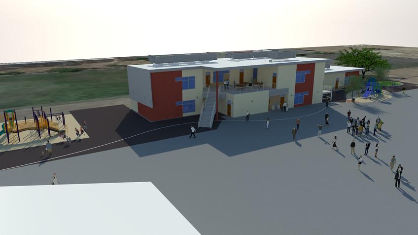 3D Render of New Building