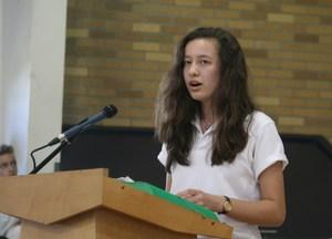 Emily Griggs PJ singing