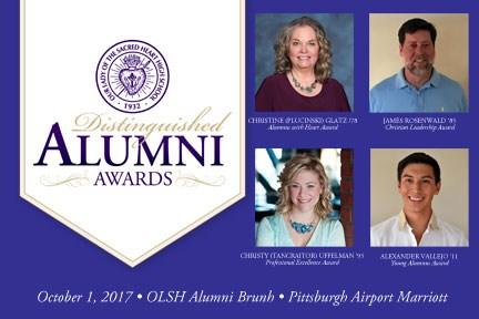 Distinguished Alumni photo collage