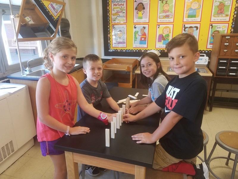 Crosby Students Practice Problem-Solving, Teamwork Thumbnail Image