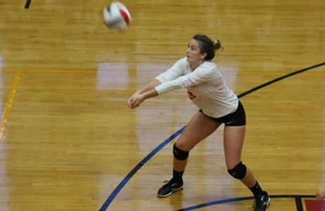 Paige Zimmerly, Sacred Heart Like to Keep Things Light Featured Photo