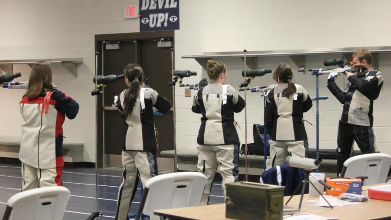 Air Rifle Team Practice
