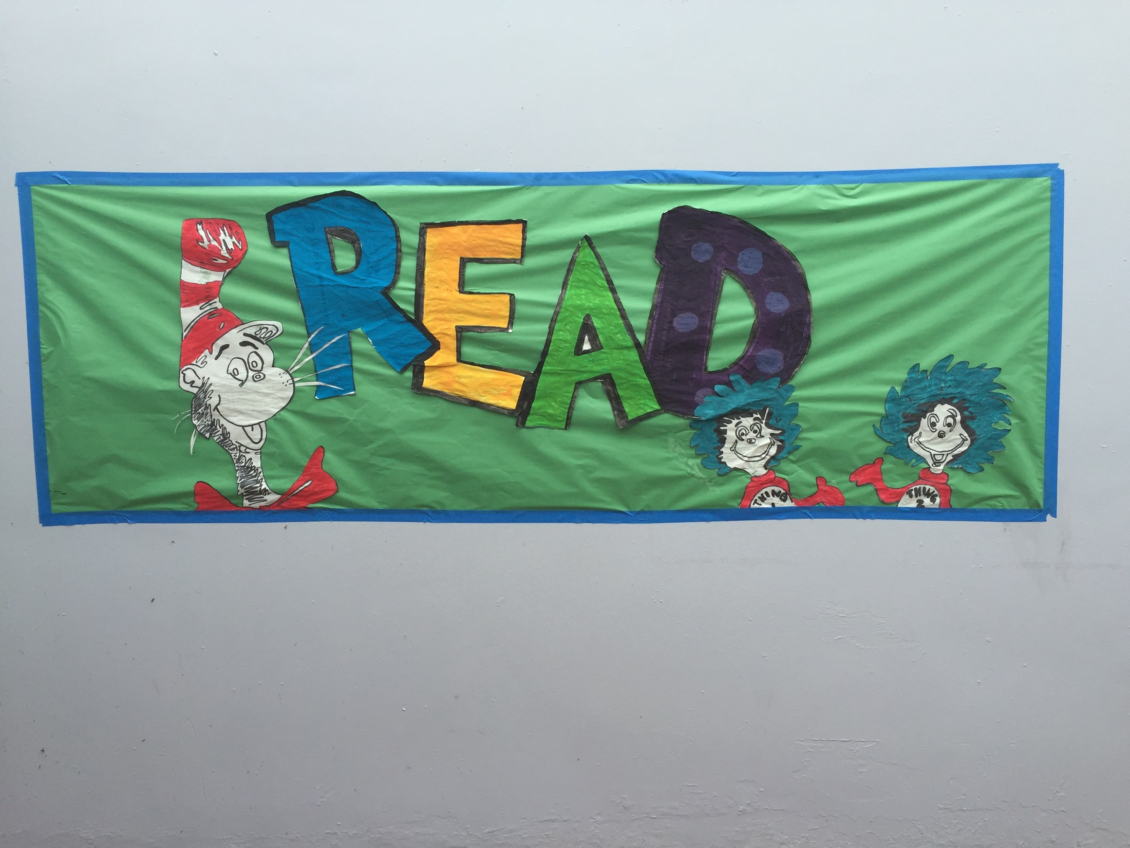 The Cat in the Hat READ banner