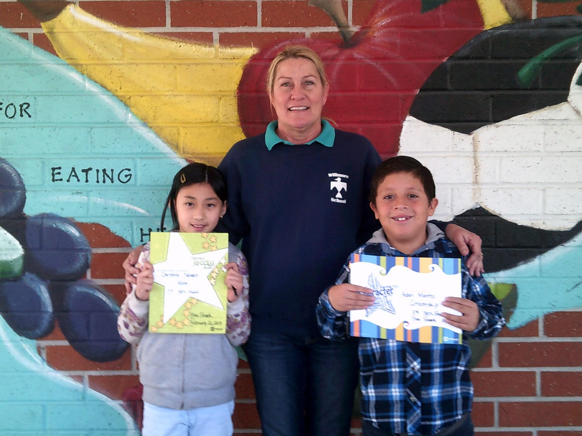 Mrs. Shook's 3rd Grade February Honorees