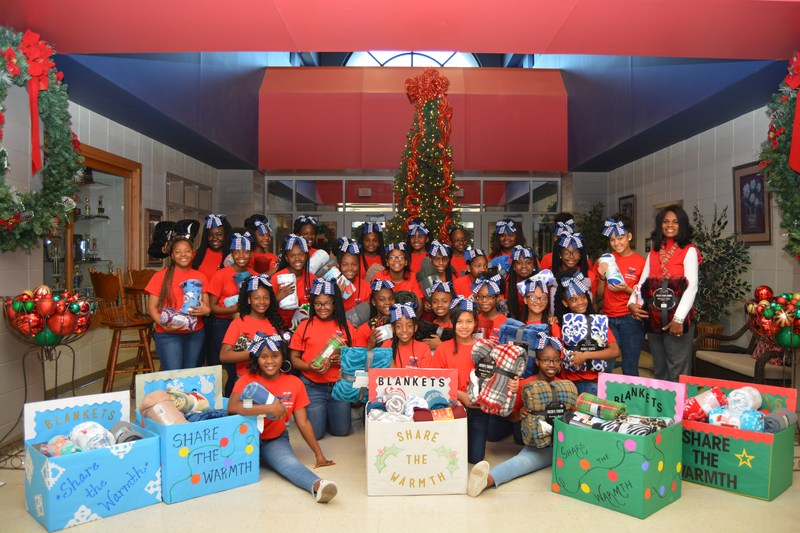 Robert Cross Dance Team 'Sharing the Warmth' with Blanket Drive Thumbnail Image