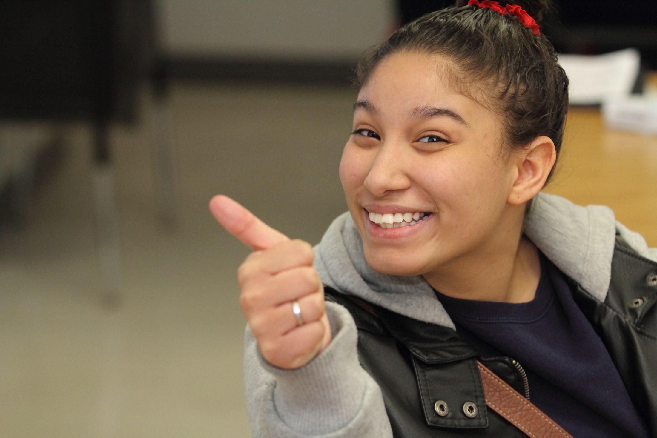 Windlake Academy student