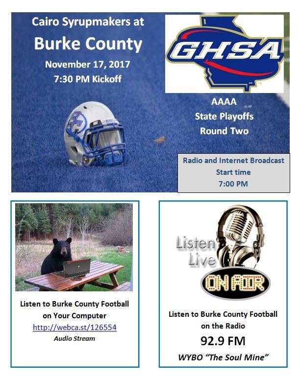 2nd Round Game Flyer