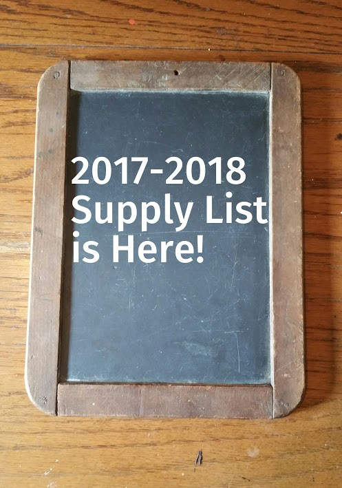 2017-2018 Supply List--CLICK HERE Thumbnail Image