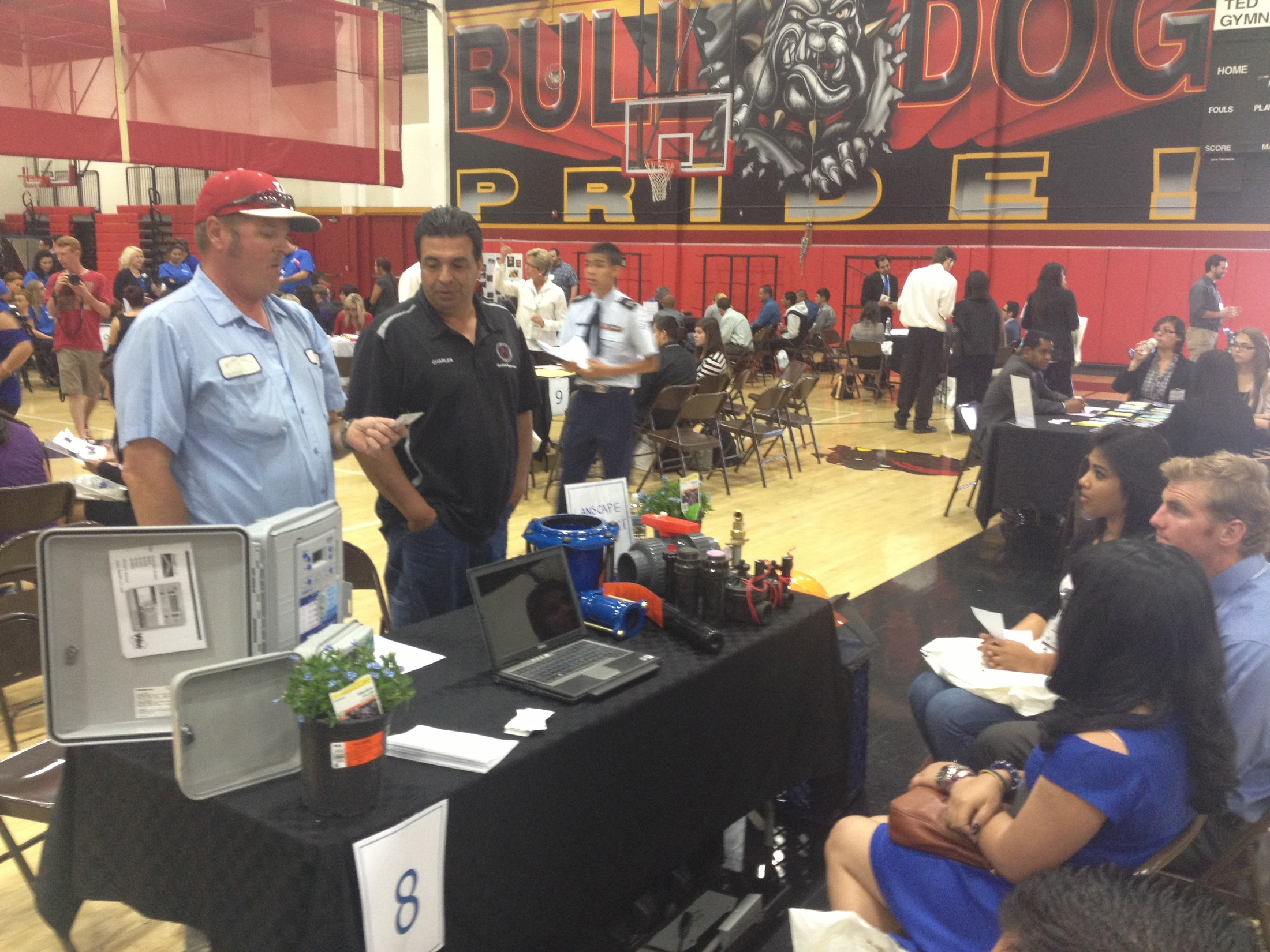 Career Day at Hemet High