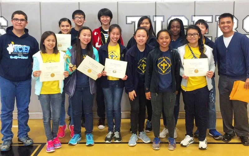 SFdS Valiants win 2nd Place at St. Agnes Math Competition! Thumbnail Image