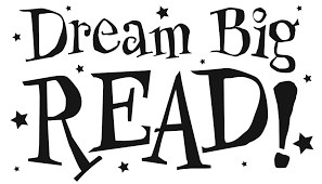 image stating Dream big Read