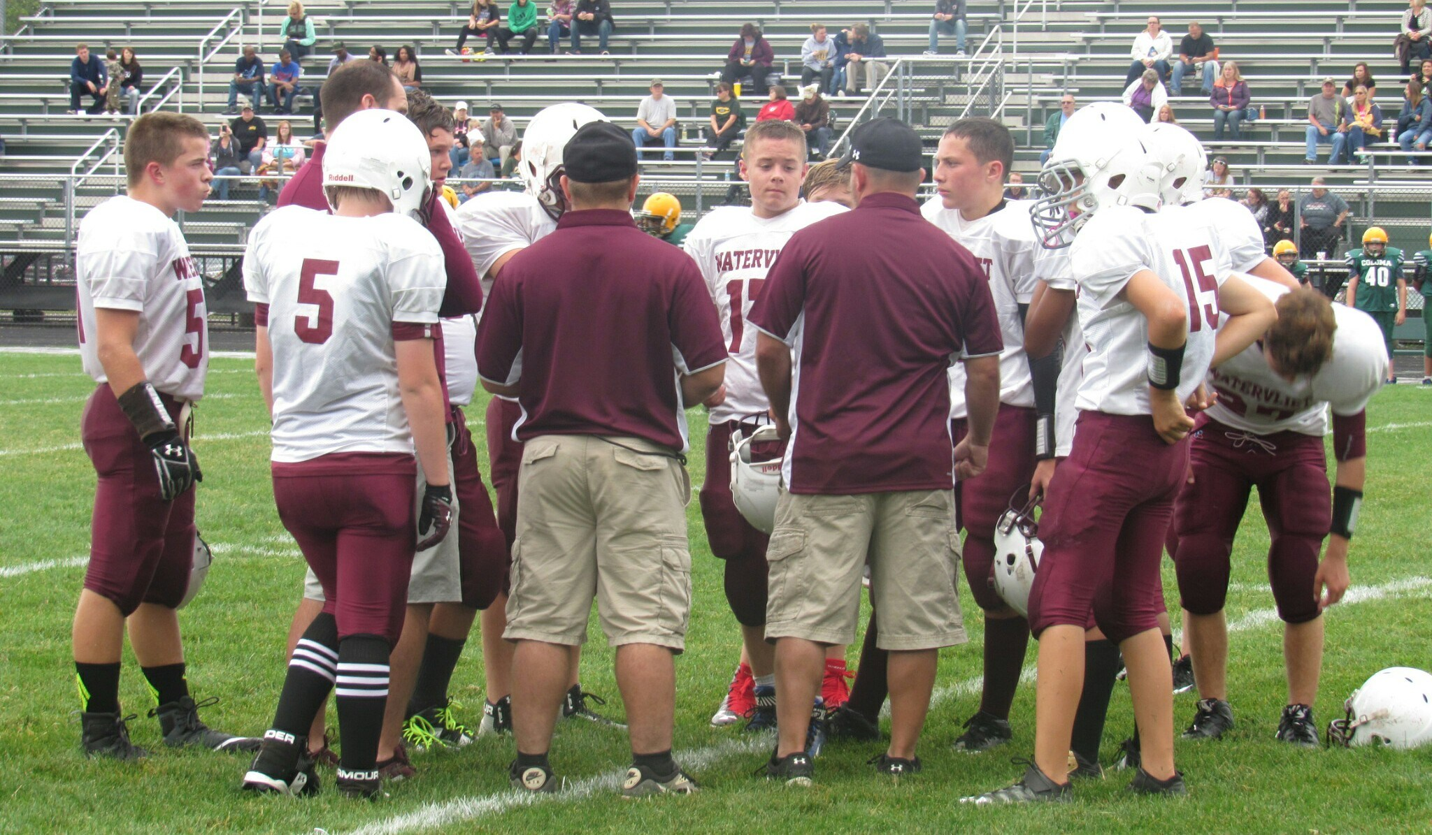 WMS Football Huddle
