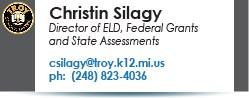 Christin Silagy email