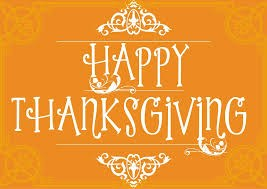 Thanksgiving Break - November 22nd - 24th Thumbnail Image