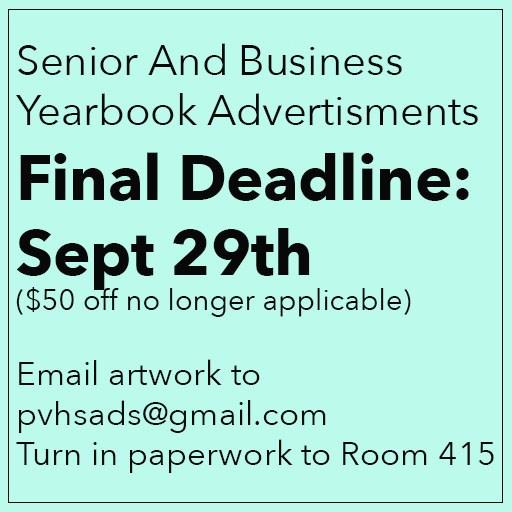 Triton Ad Deadline: Sept 29 Thumbnail Image