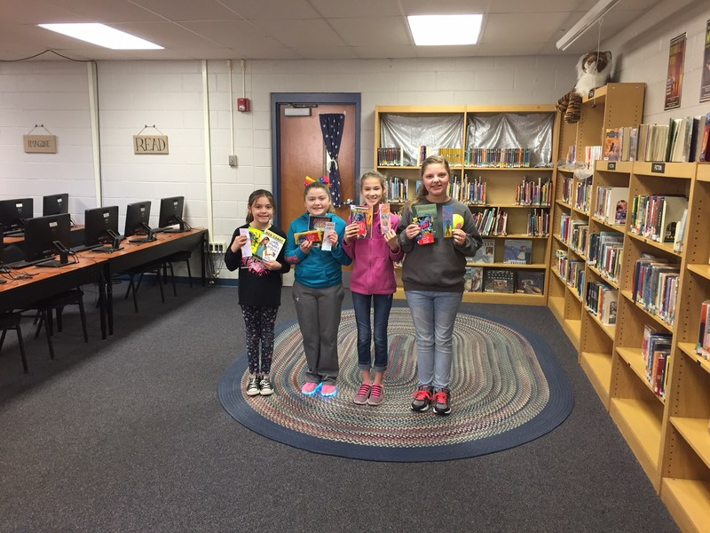 Read Aloud Celebration on Friday, February 2 at GES. Featured Photo