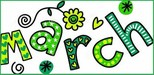 March newsletter clipart